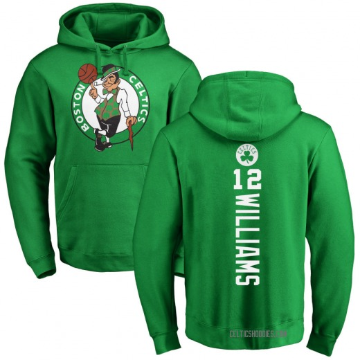Youth Grant Williams Boston Celtics Green Kelly Backer Pullover Hoodie